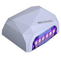 Сенсорная УФ + лед лампа CCFL+Led 36W белая