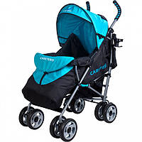 Прогулочная коляска Caretero Spacer Blue