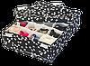 Набор органайзеров с крышками для нижнего белья 3 шт ORGANIZE (батерфляй), фото 2