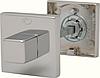 Розетка Convex 50х50 WC матовый никель