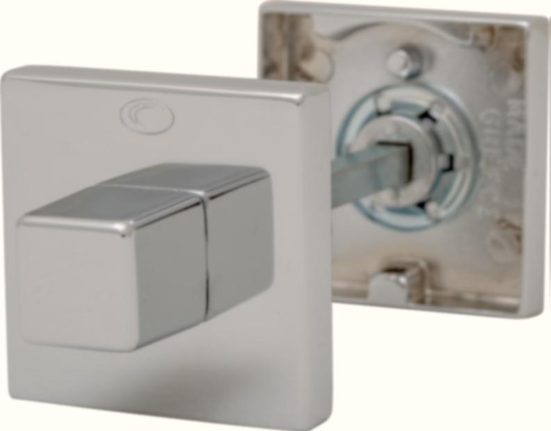 Розетка Convex 50х50 WC матовый никель, фото 1