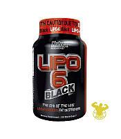 Жиросжигатель Lipo 6 Black от Nutrex  120 капсул