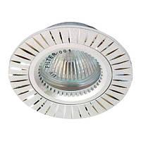 Точечный встраиваемый светильник Feron GS-M394 MR16 серебро
