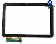 Touchscreen (сенсорный экран) для Motorola MZ607 XOOM2 Media Edition, оригинал (черный)