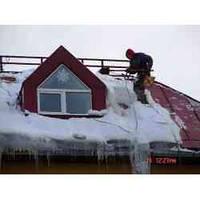 Прибирання снігу з дахів., фото 1