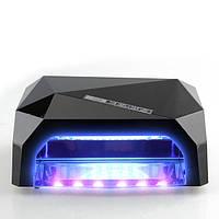 Сенсорная УФ + лед лампа CCFL+Led 36W черная, фото 1