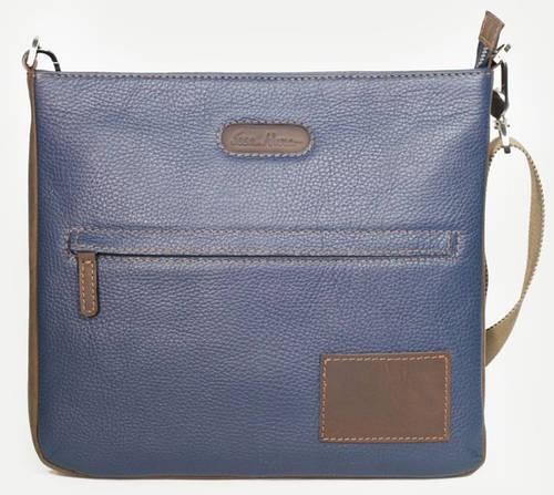 Выразительная сумка-планшетка из натуральной кожи ISSA HARA В10 (13-32)