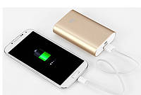 Универсальная батарея - Xiaomi power bank 5200 mAh, MI 2, gold, фото 1