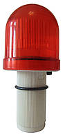 Фонарь - маячок сигнальный для дорожного конуса и ограждения, фото 1
