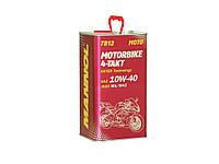 Моторное масло Mannol 7812 Motorbike 4-Takt API SL (4L) metal
