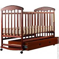 Детская Кровать Наталка Ольха с ящиком, тонированная