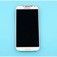 Дисплей Samsung I9505 (сенсор, с передней панелью, камерой и разъемом питания) Original White