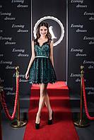 Милейшее вечерние платье в стиле беби-долл для юной леди