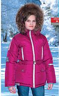 Куртка зимняя для девочки ДВ-196, Baby Line размер 116-146