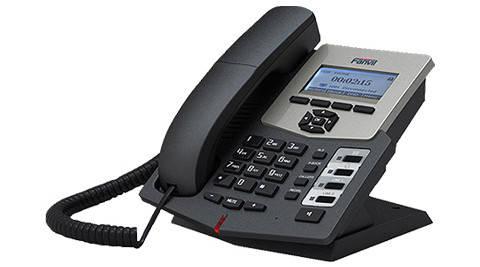 Fanvil C58P IP - телефон бюджетного уровня, PoE, фото 2