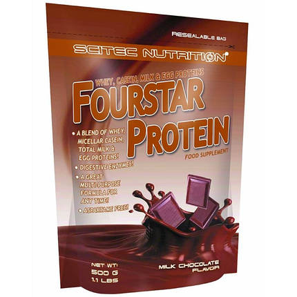 Fourstar Protein Scitec Nutrition 500 g, фото 2