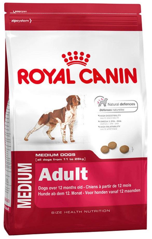 Корм для собак средних пород Royal Canin Medium Adult