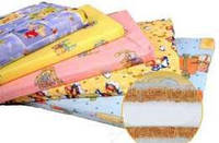 Матрас в детскую кроватку Кокос-Поролон-Кокос (чехол - хлопок)