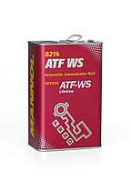 Трансмиссионное масло Mannol ATF WS Automatic Special (4L) metal
