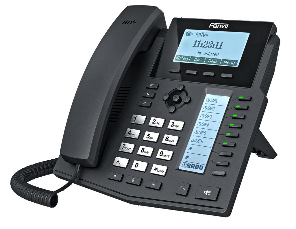 Fanvil X5G IP - телефон среднего уровня, PoE