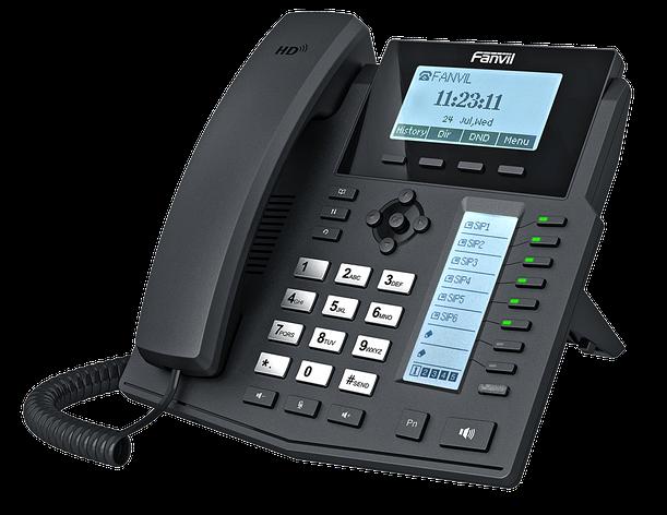Fanvil X5G IP - телефон среднего уровня, PoE, фото 2