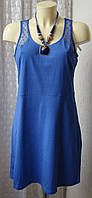 Платье летнее хлопок мини Esmara р.46-48 6684