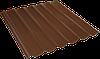 Металлошифер толщина металла 0,45, цена за лист 1,77 м2