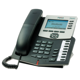 Fanvil C66 IP - телефон среднего уровня, PoE, фото 2