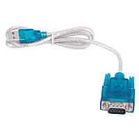 Кабель переходник USB на COM - RS232 - DB9