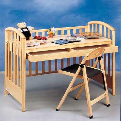 Кровать как рабочее место