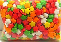 """Посыпка сахарная для торта, пирожных микс """"Цветочки"""", 50 грамм"""