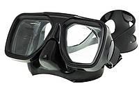 Маска подводного охотника Marlin Techno; чёрная, фото 1