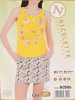 Комплект майка + шорты ТМ Nicoletta 80586
