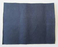 Фетр для рукоделия листовой, 1 лист 40*50 см, жёсткий, толщина 1 мм; темно-синий, фото 1