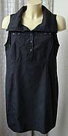 Платье черное модное стильное Cecil р.52 6686а