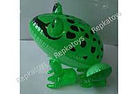 Надувная игрушка Жаба большая, 37-30 см (ОПТОМ) 3464
