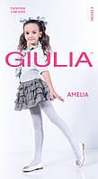 Kолготки для девочек с рисунком AMELIA 40 DEN,р 104-158