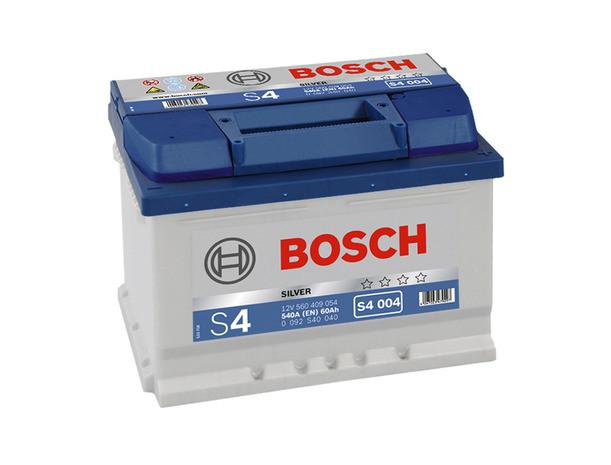 Аккумулятор BOSCH S4 60Ah-12v (242x175x175) правый +