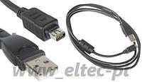 Кабель   USB зарядное устройство для фотоаппаратов Olympus CB-USB5, CB-USB6 LineComp