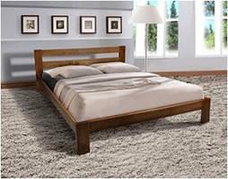 Кровать деревянная двуспальная STAR, 1600*2000, коньяк