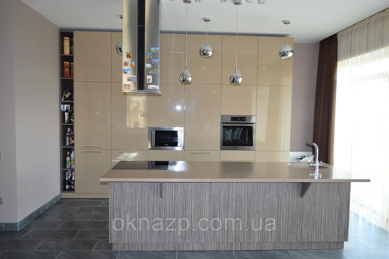 Кухонная столешница-остров (цена за литую мойку 2400грн./шт.)