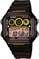 Мужские японские часы Casio AE-1300WH-1A