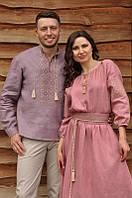 Вышиванка мужская и женское платье , фото 1