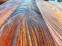 Браширование , текстурирование или искусственное старение древесины