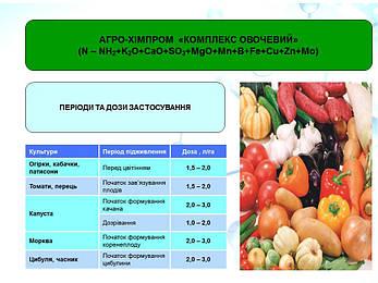 Микроудобрение (удобрение) хелаты ЕДТА Комплекс Овощной; для внекорневой подкормки овощных культур, фото 2
