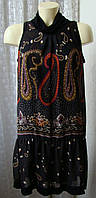Платье летнее темное красивое Promod р.44 6709