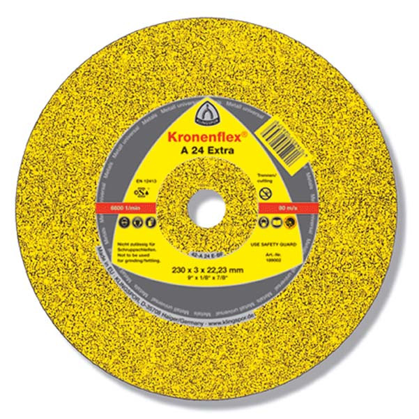 Отрезной круг Klingspor A 24 Extra 115X2,5X22,23 GER
