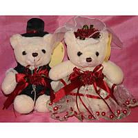 Жених и невеста мишки плюшевые