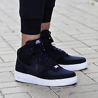Кроссовки мужские Nike Air Force Low (найк форс, оригинал) черные