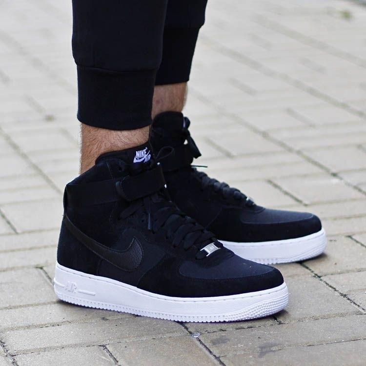 c9dfdcf1 Кроссовки Мужские Nike Air Force Low (в Стиле Найк Форс) Черные — в ...